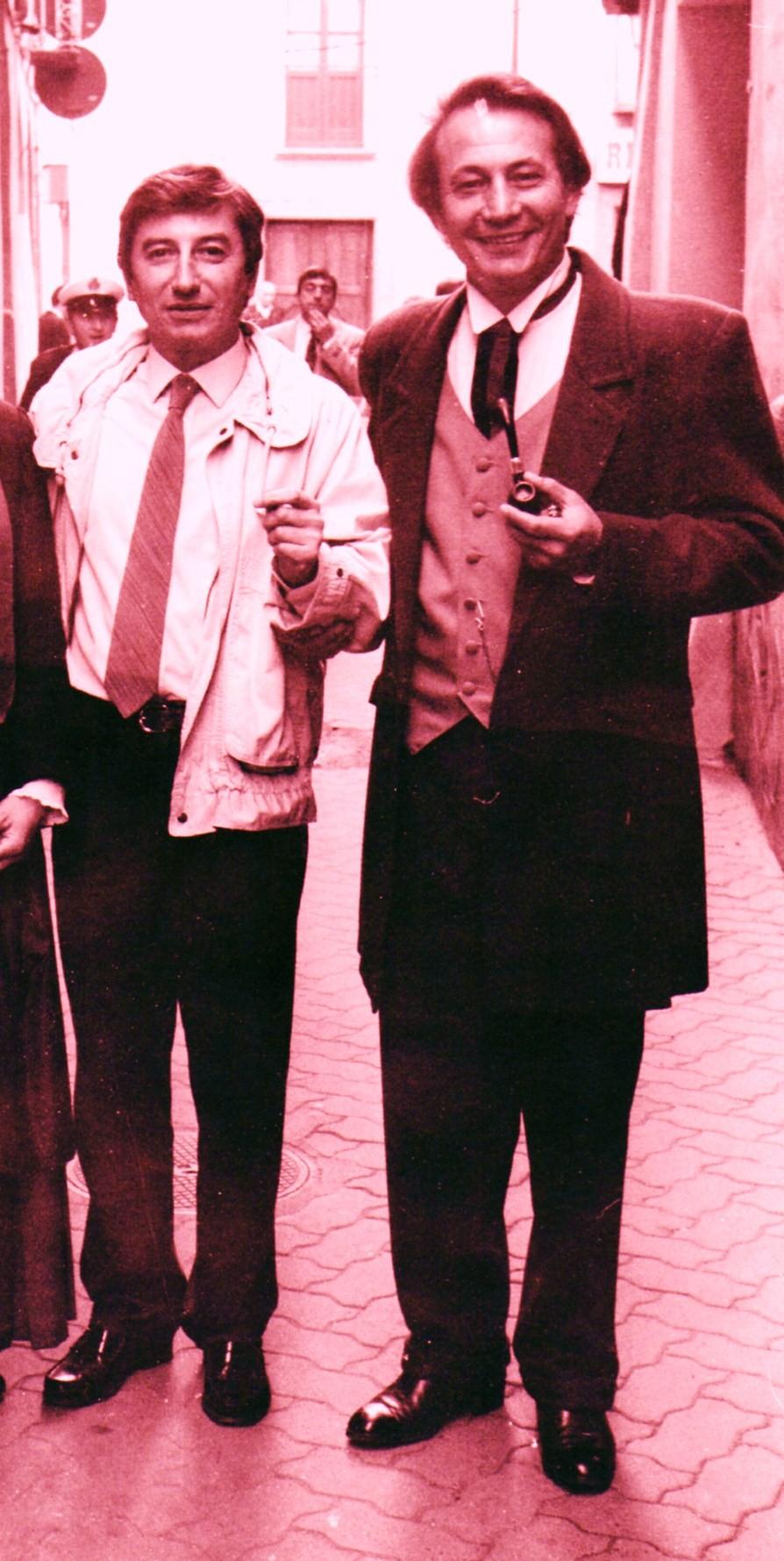 Giacomo Castagna e Alfredo Gea