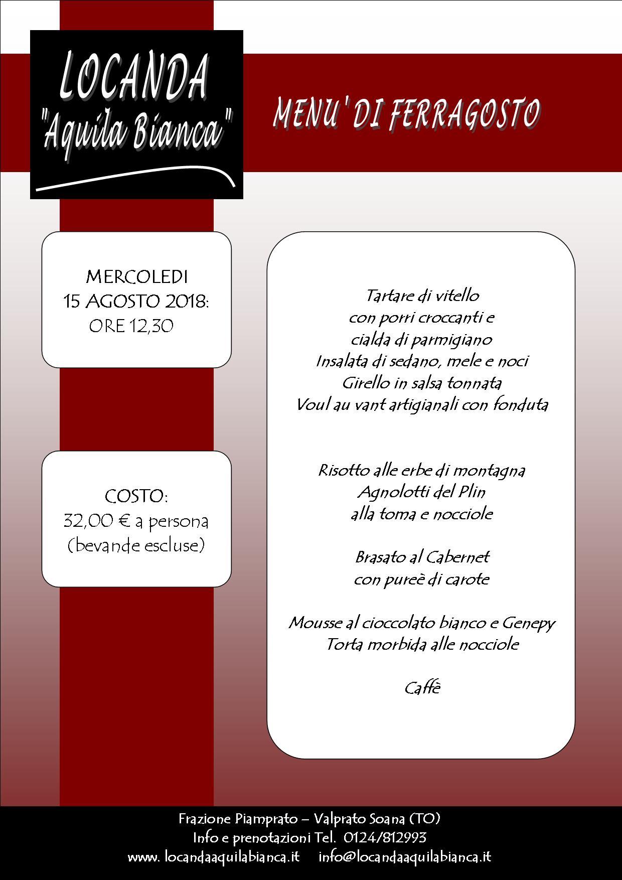 menu ferragosto2018