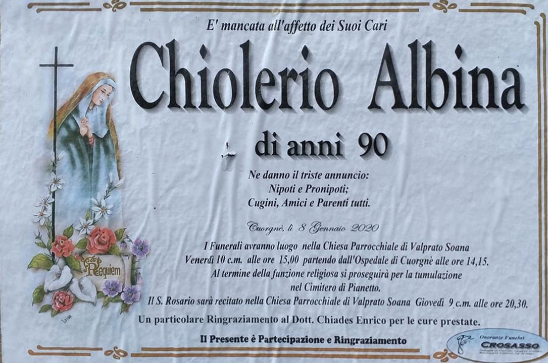 ChiolerioAlbina